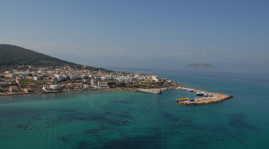 Hotels Agistri Island Greece